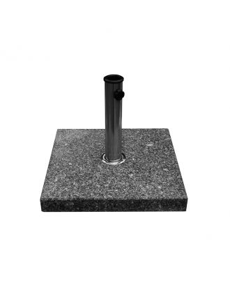 30kg Grey Granite Base with Stainless Steel Pole