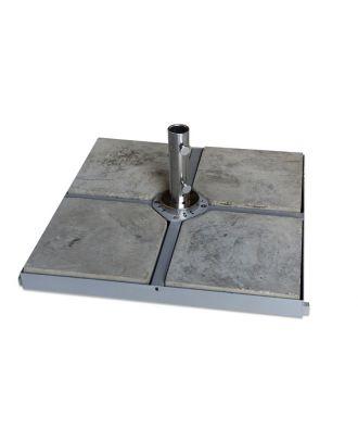 4 x 4 Metal Cross Parasol Base Frame 120kg (4 x 30kg Concrete Bases)
